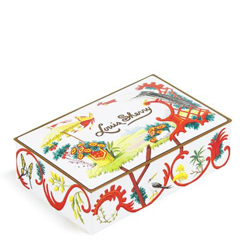 "Jardin 2-Piece ""Jewel Box"" Chocolate Truffle Tin"