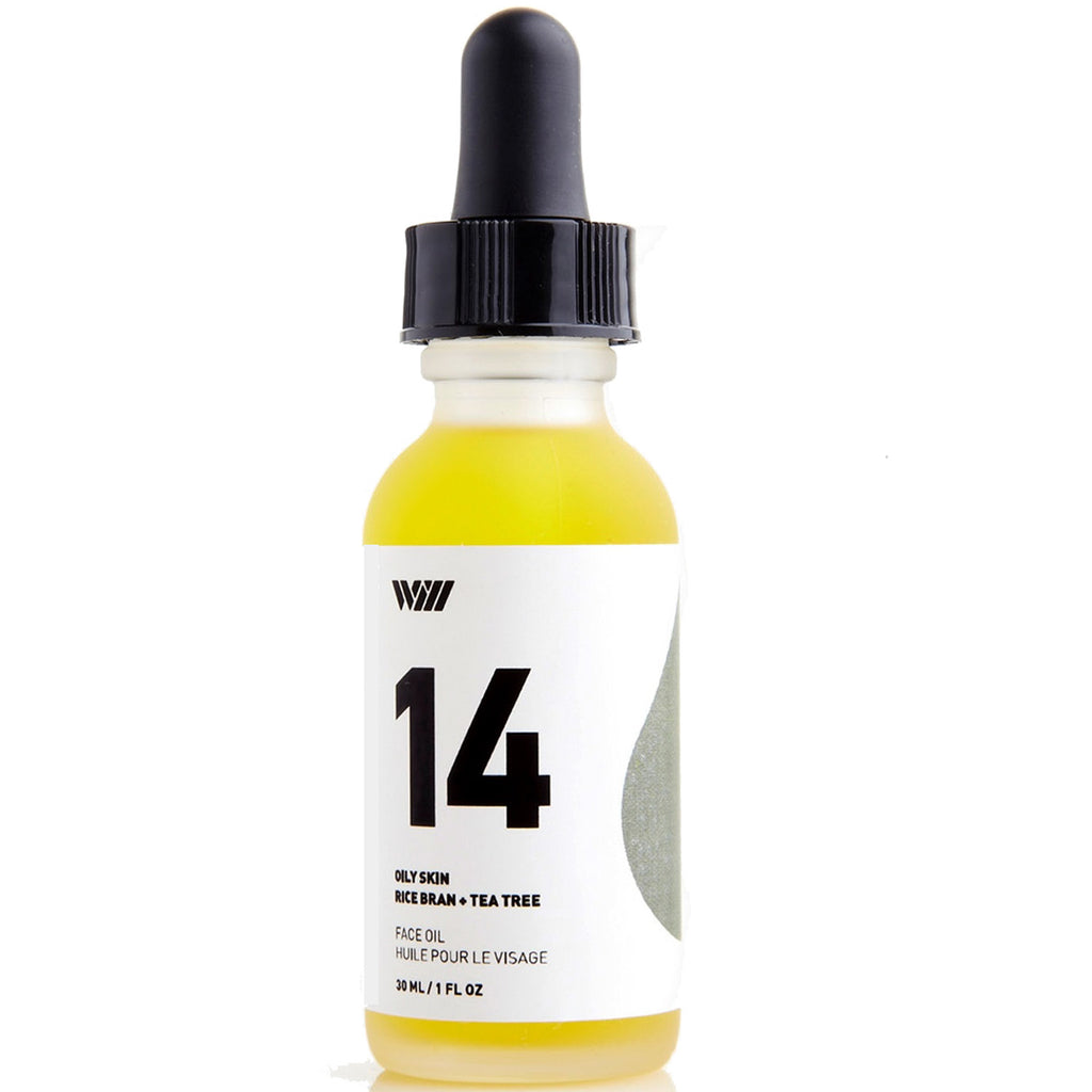 14: face oil: oily skin