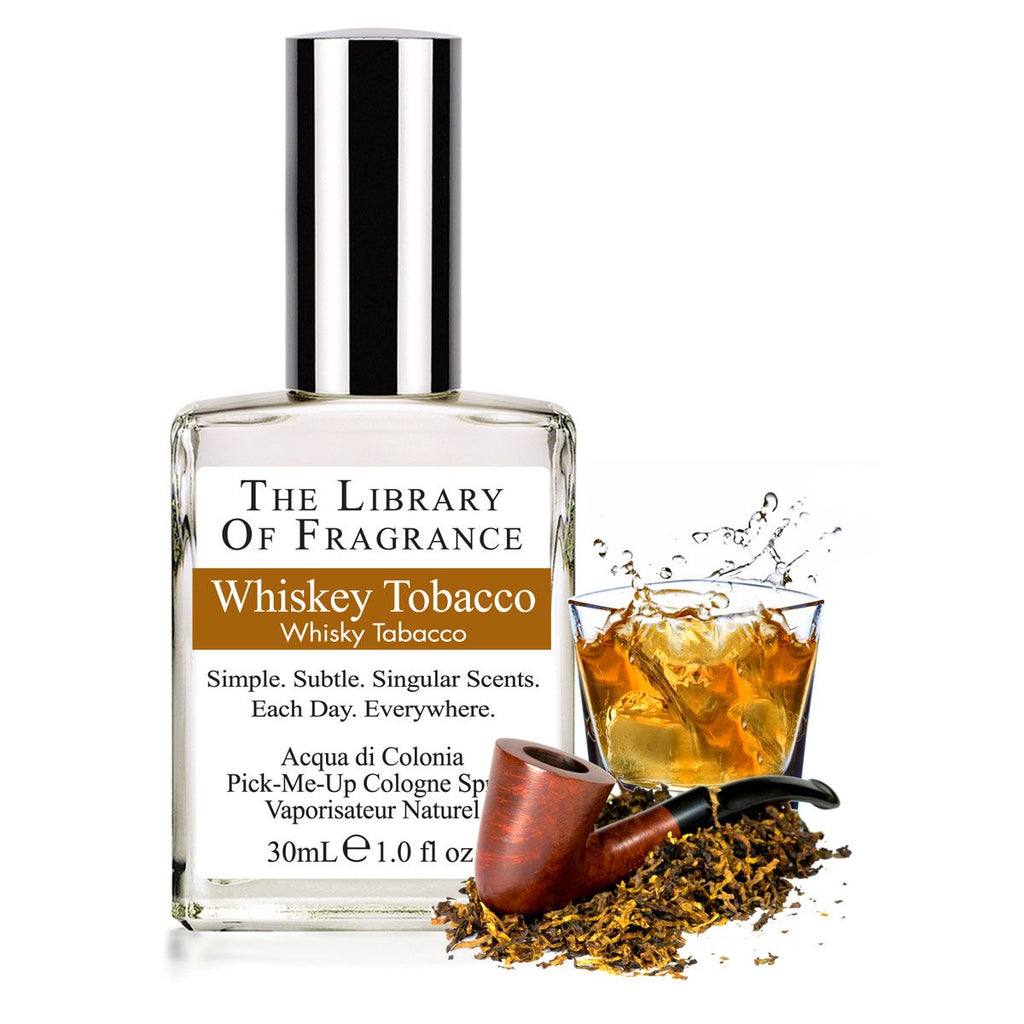 whiskey tobacco: Demeter Cologne Spray