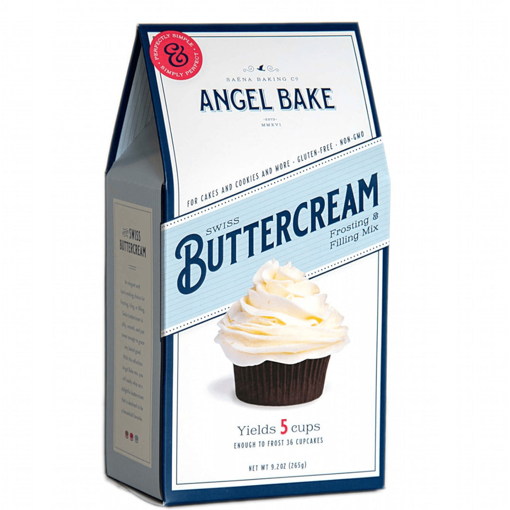 Swiss Buttercream Frosting and Filling Mix: Angel Bake