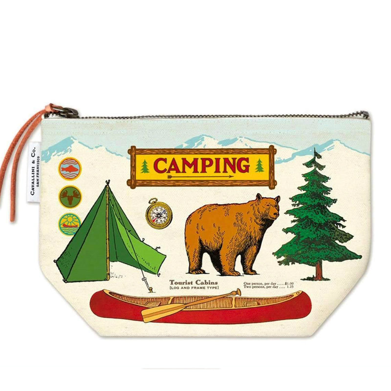 camping zip pouch