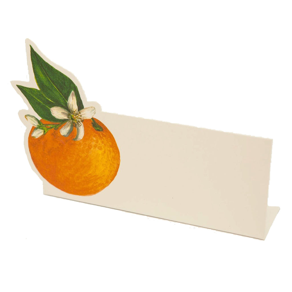 orange orchard: place card