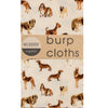 natural dog burp cloths- Milkbarn