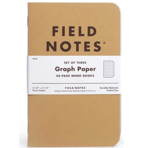 graph paper  FIELD NOTES: set (3)