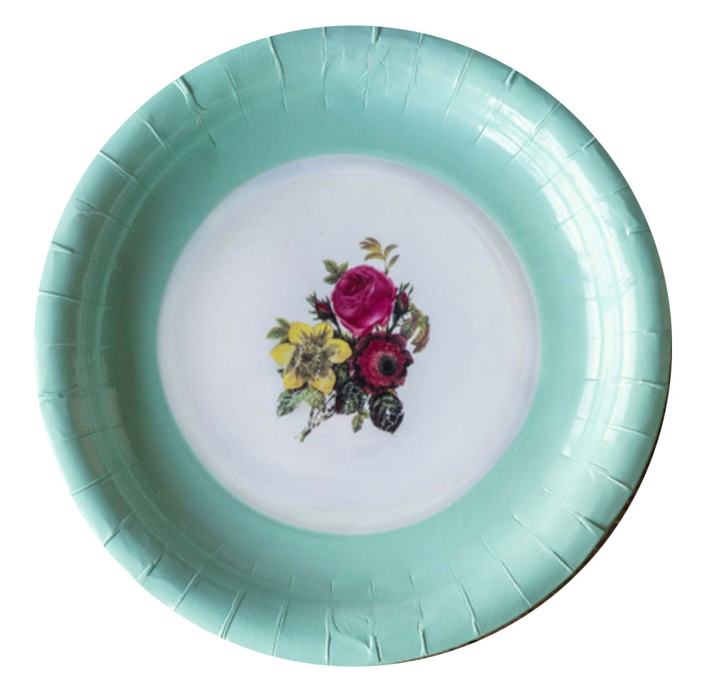 Old China Paper Plates