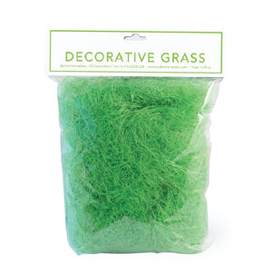 Decorative Easter Grass Green