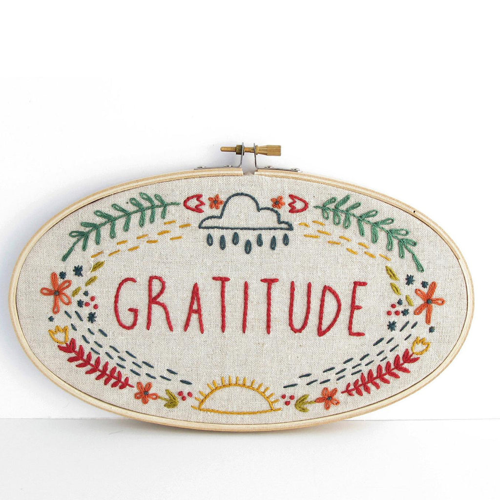 graditute: cross stitch kit