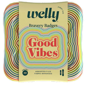 good vibes bravery: welly