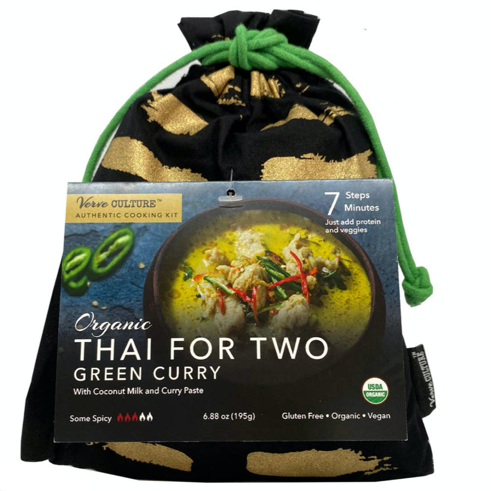 Green Curry Organic: Cooking dinner for 2 Kit