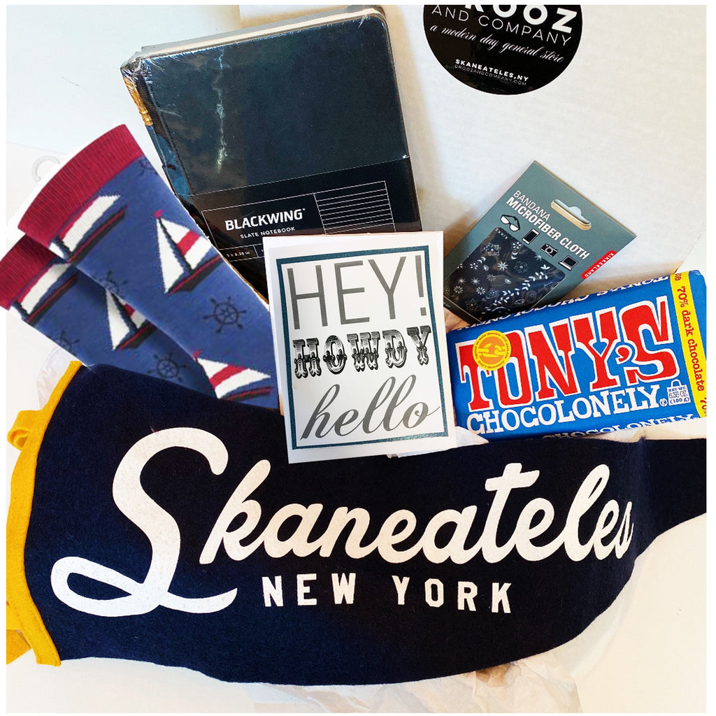 """Hey Howdy Hello"" Skaneateles Gift Box"