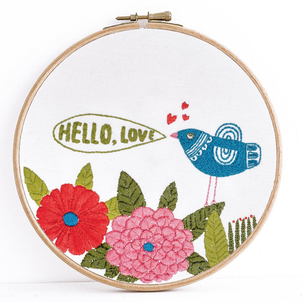 hello, Love !: cross stitch kit