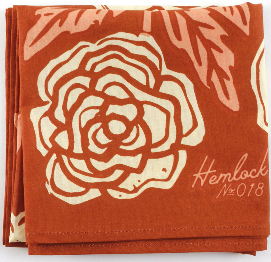 No. 018 Rose bandana