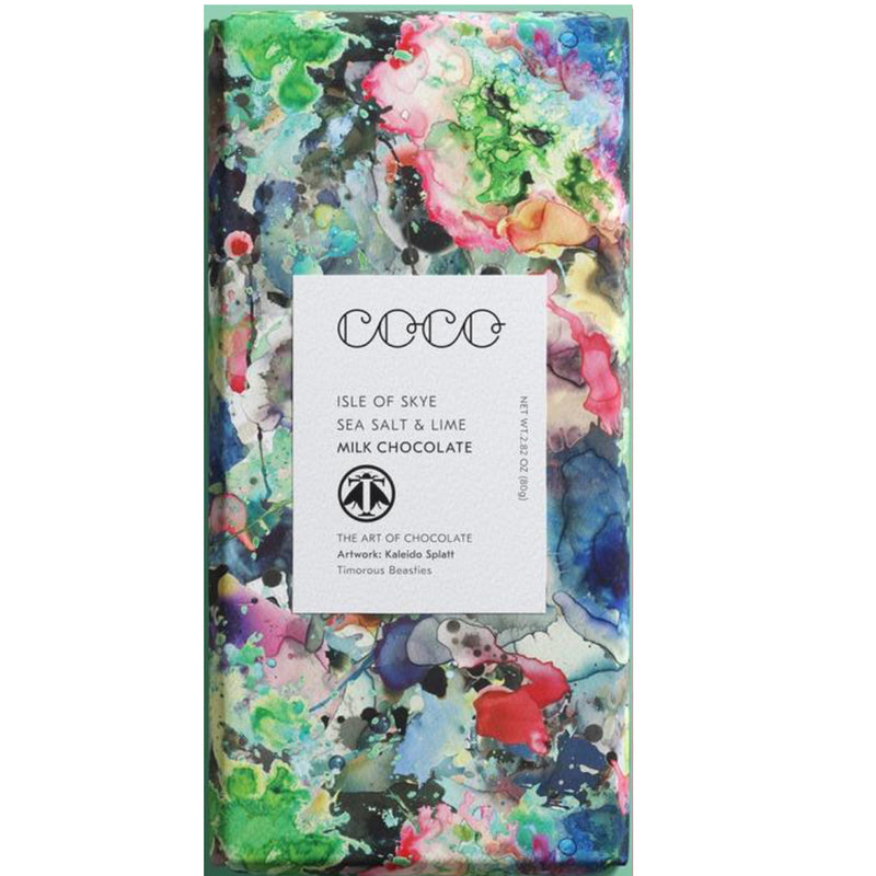 Lime + Sea Salt Coco Bar