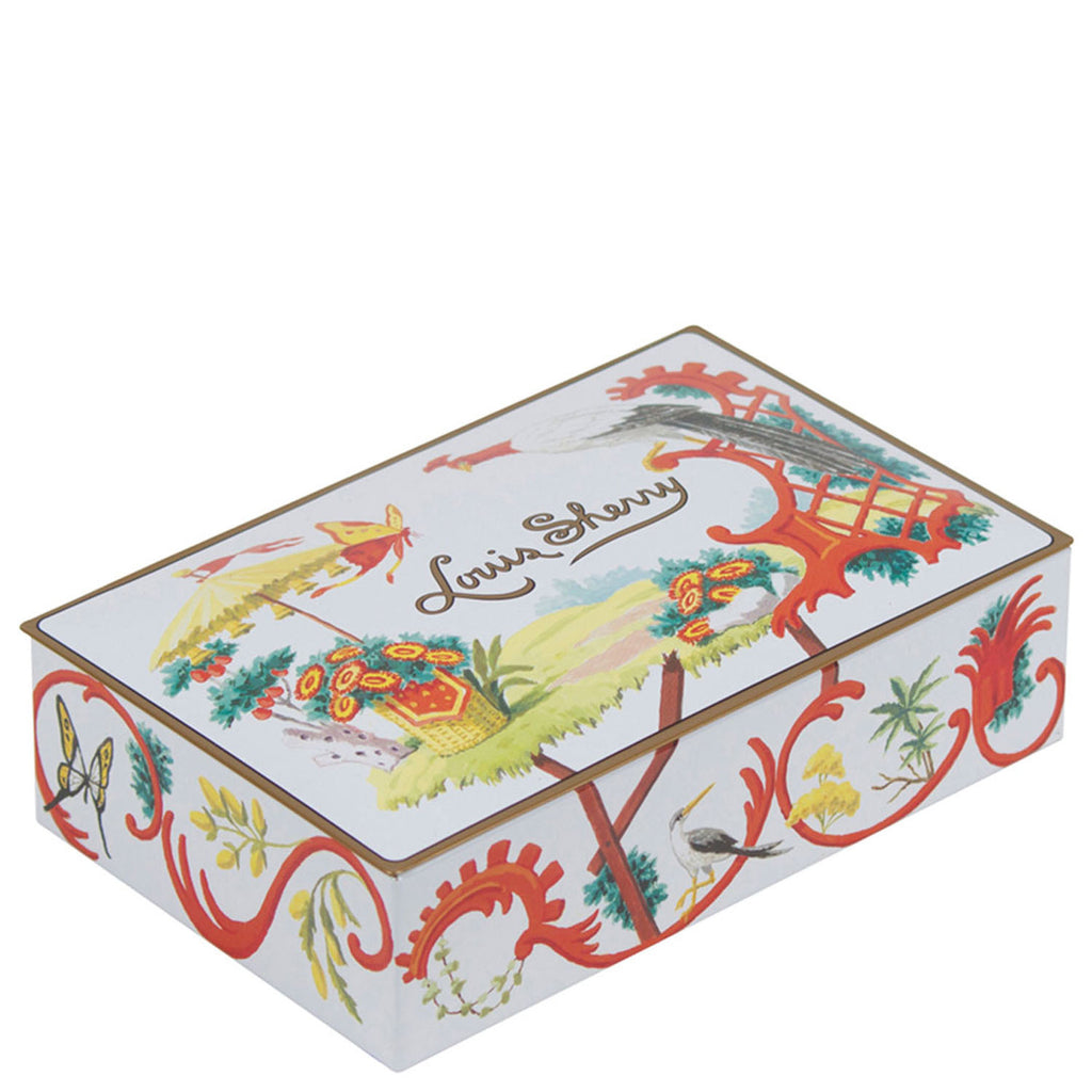 Jardin Chinois 12-Piece Assorted Chocolate Truffle Tin