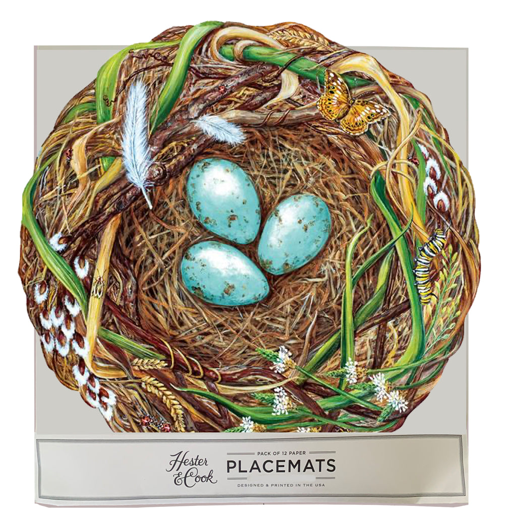 Die-Cut Woodland Nest Placemat