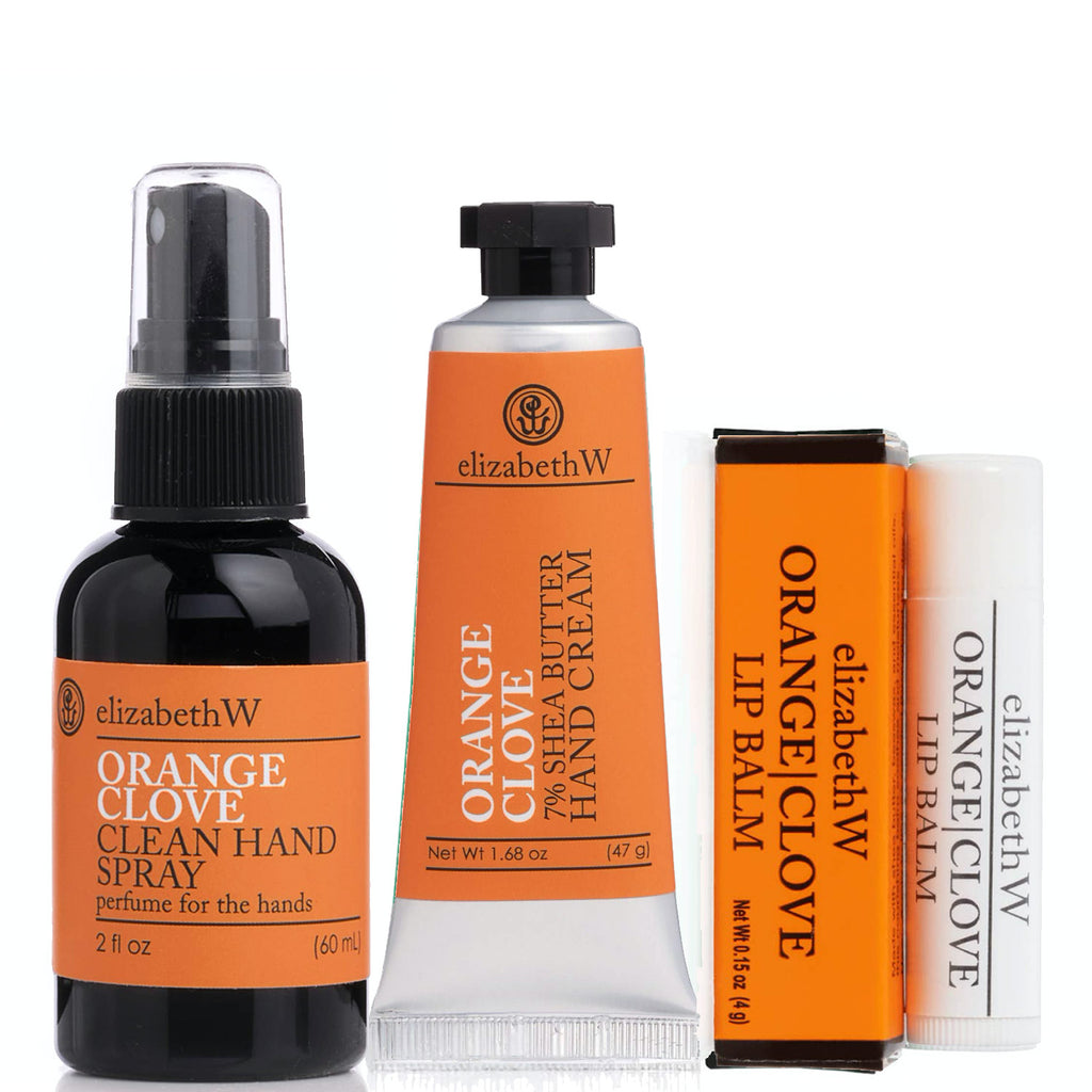 orange clove sanitized + smooth TRIO
