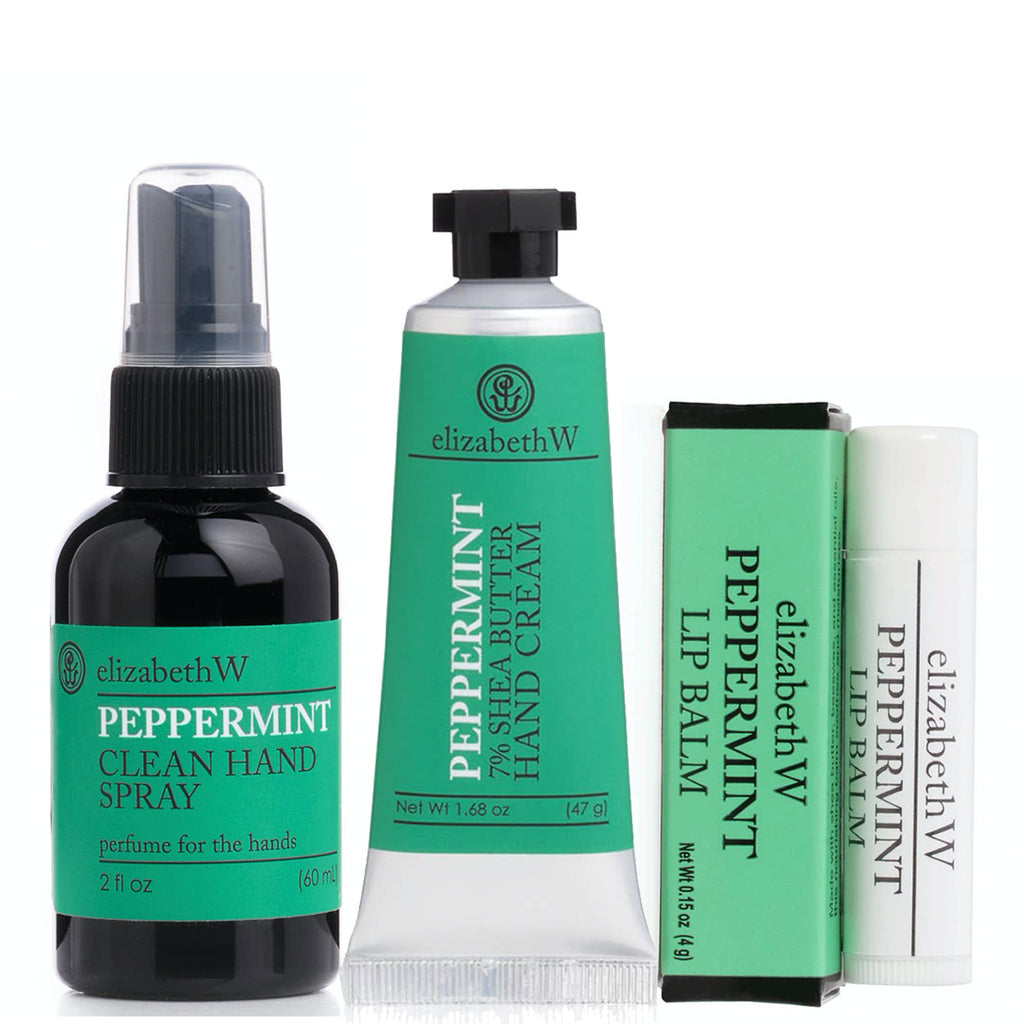 peppermint sanitized + smooth TRIO