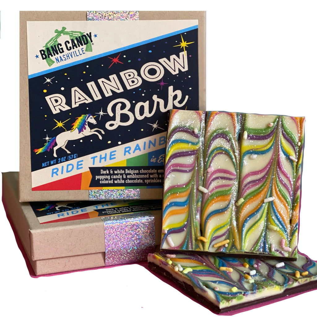 rainbow bark box
