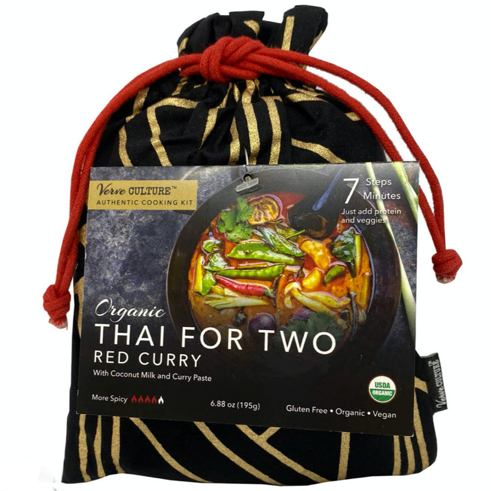 Red Curry Organic : Cooking dinner for 2 Kit