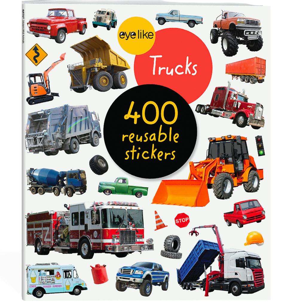trucks: EYELIKE sticker book
