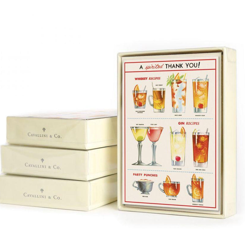 cheers! thank you cards: boxed set