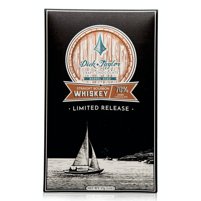 Straight Bourbon Whiskey Dark Chocolate