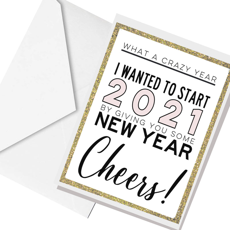 welcome to 2021.. greeting card