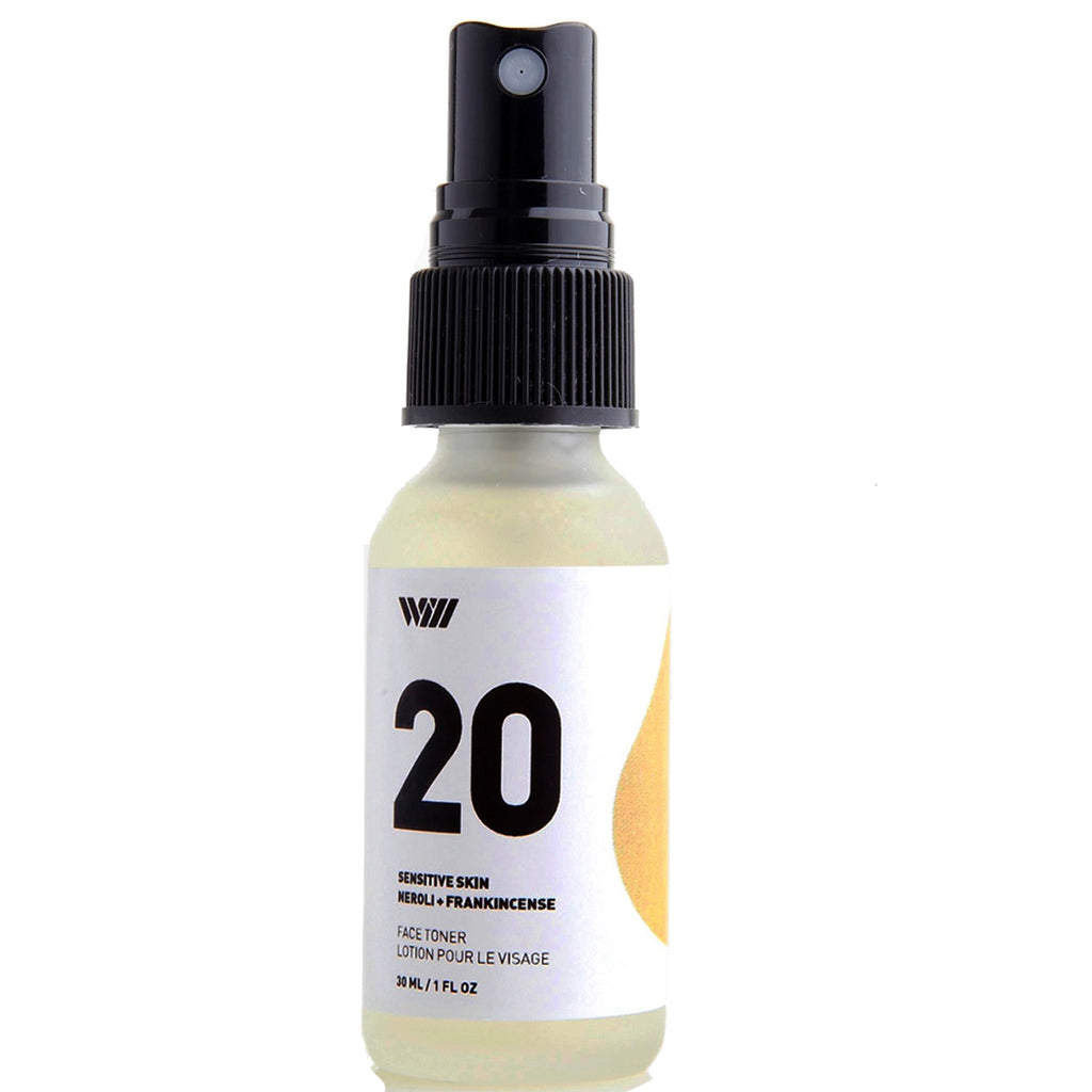 20: sensitive skin face toner