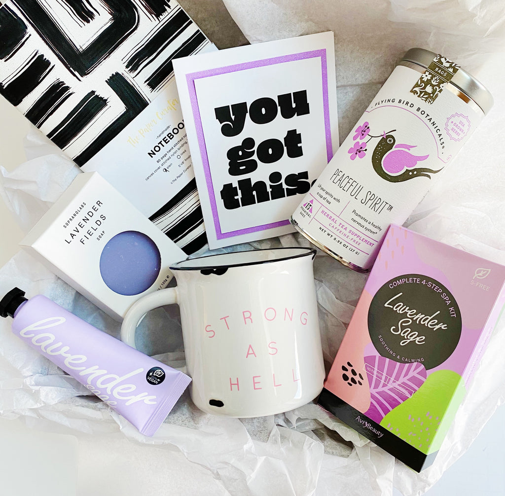 "Purple ""You Got This"" Gift Box"