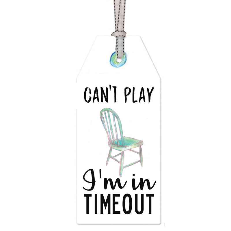 time out: DOOR TAG