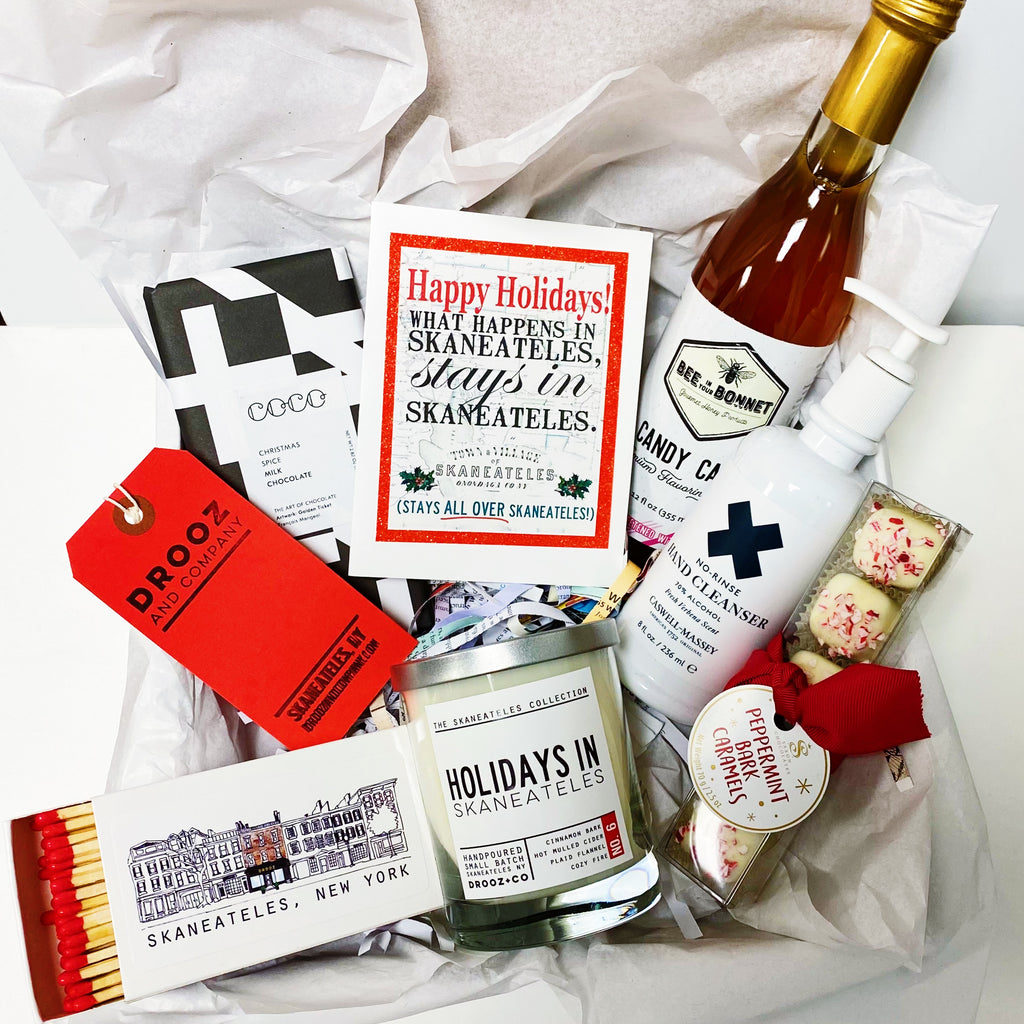 """Holidays in Skaneateles"" gift box"