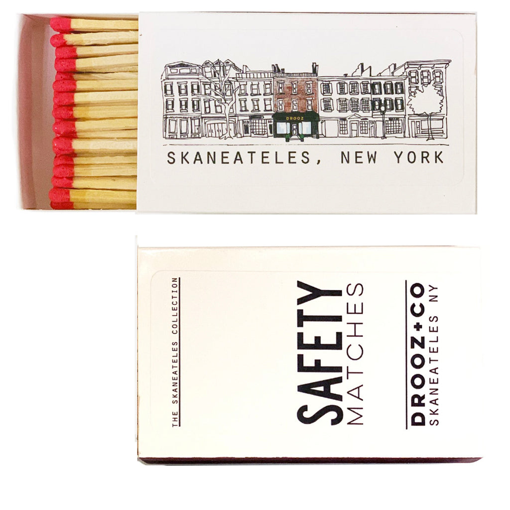 plain Skan village safety matchbox