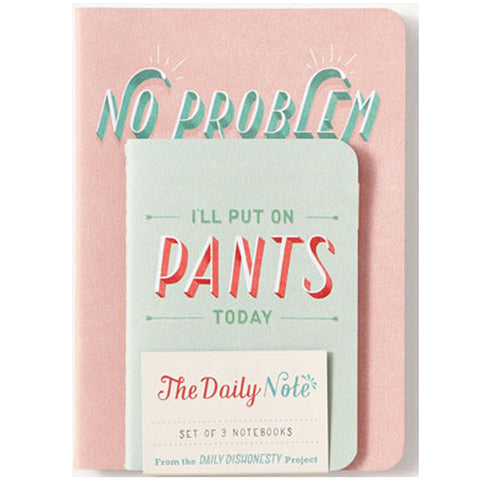 Daily Dishonesty: journal set