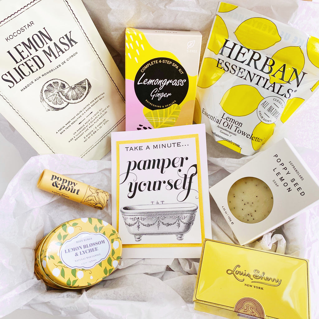 """Lemon Pamper"" Gift Box"