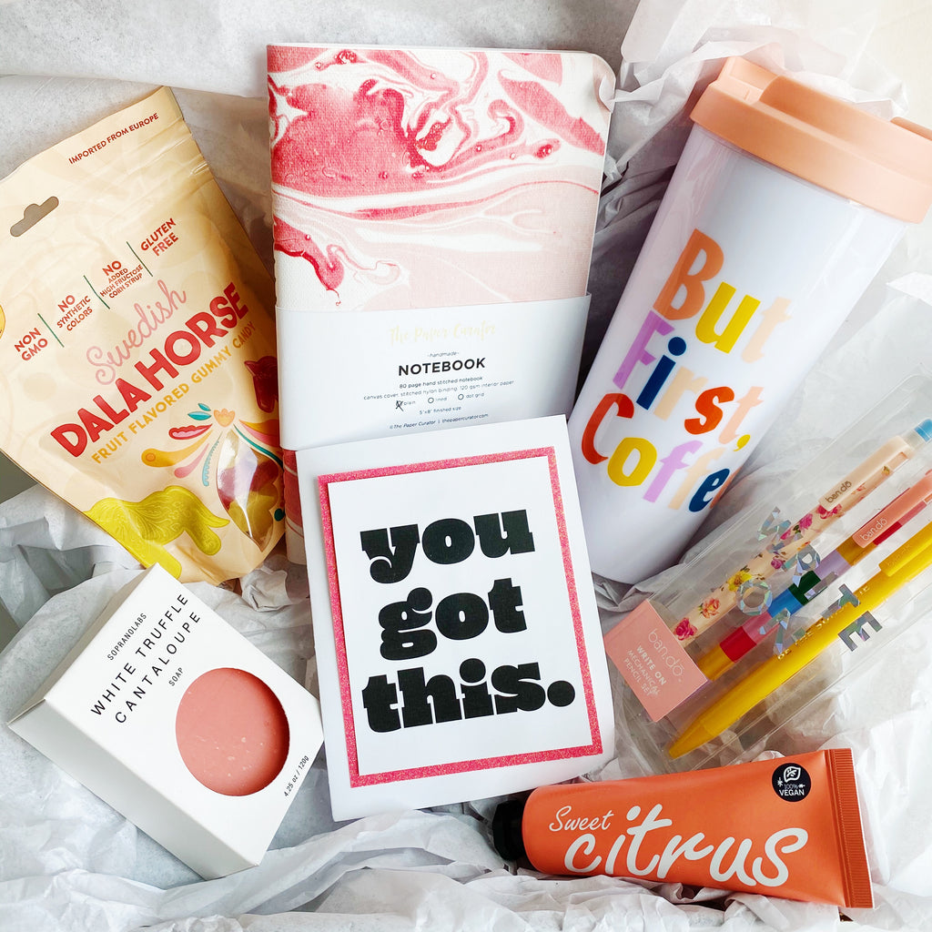 "Pink ""You Got This"" Gift Box"