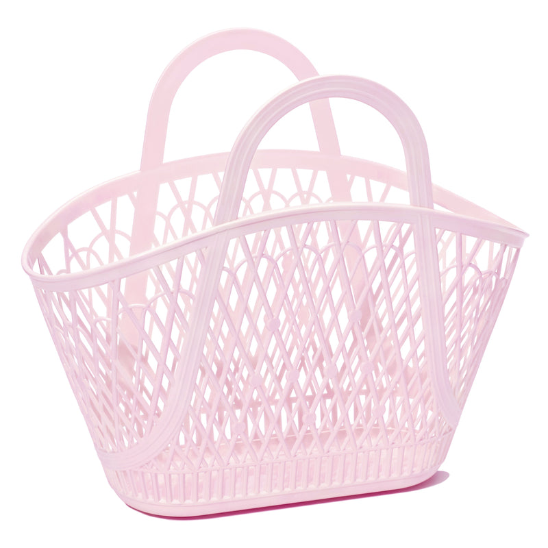 pale pink: betty basket {Sun Jellies}