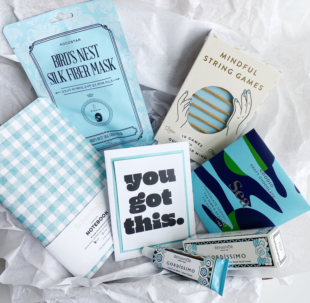 "Light Blue ""You Got This"" Gift Box"