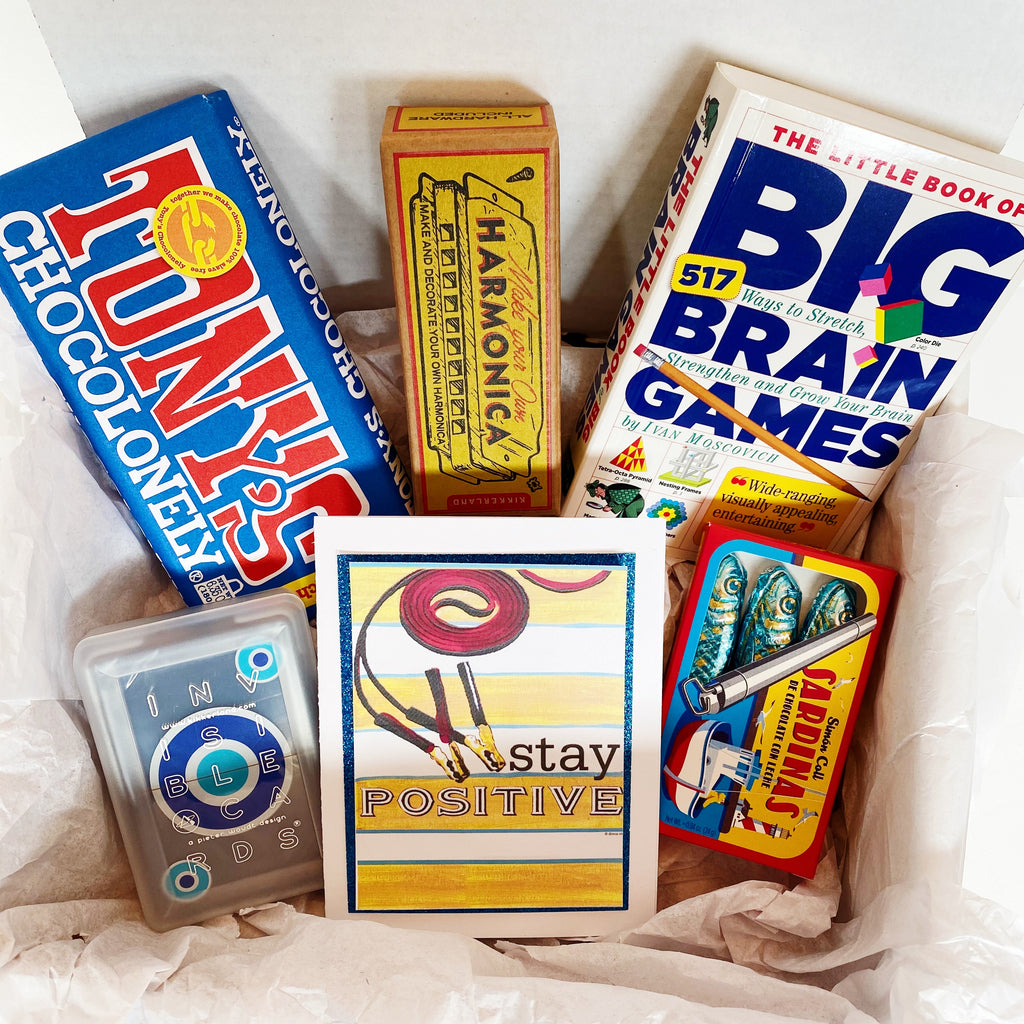 "Box of Fun ""Stay Positive"" Gift Box"