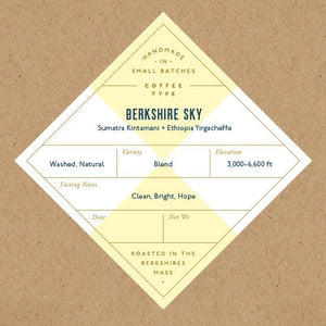 Berkshire Sky Blend- Whole Bean Coffee