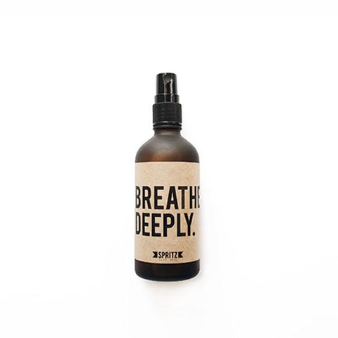 Breathe Deeply: Peppermint Essential Oil Spray