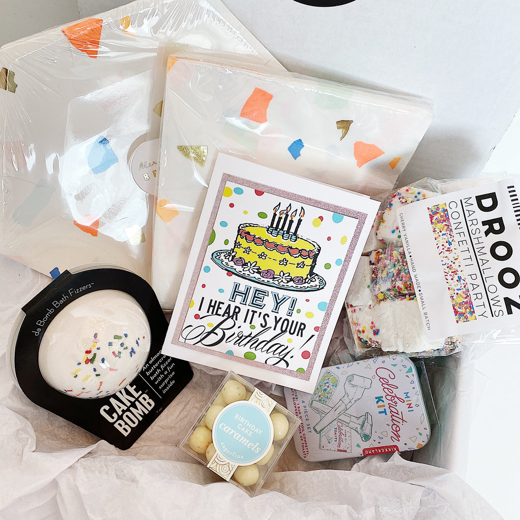 "Confetti ""Happy Birthday"" Gift Box"
