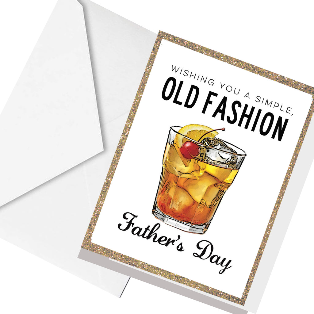 old fashion father's day... greeting card