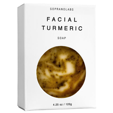 FACIAL TURMERIC  VEGAN SOAP- Sopranolabs