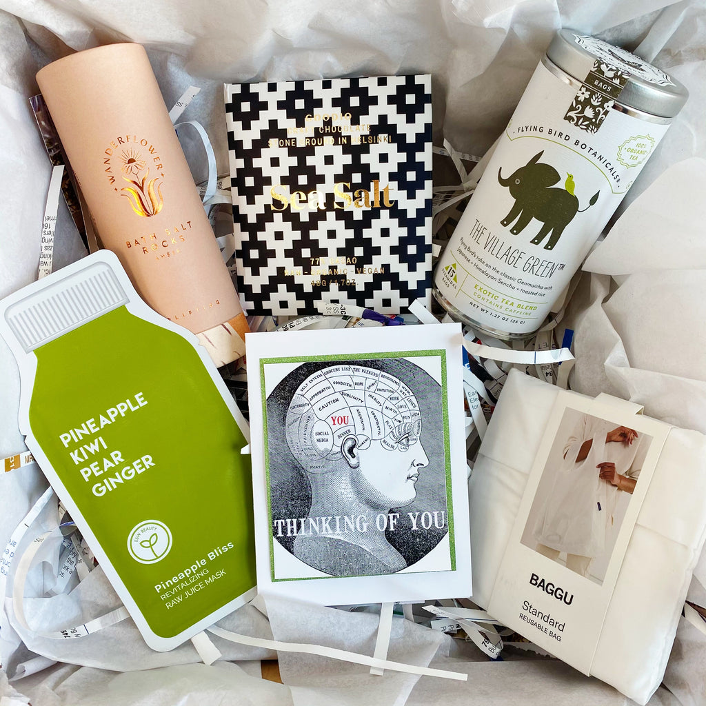 "Green ""Thinking of You"" Gift Box"