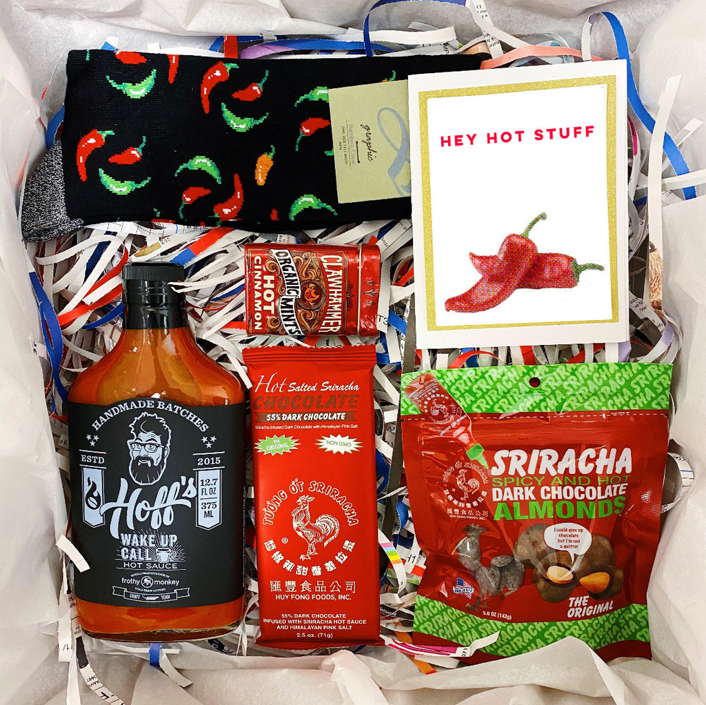 """Hey Hot Stuff"" Gift Box"