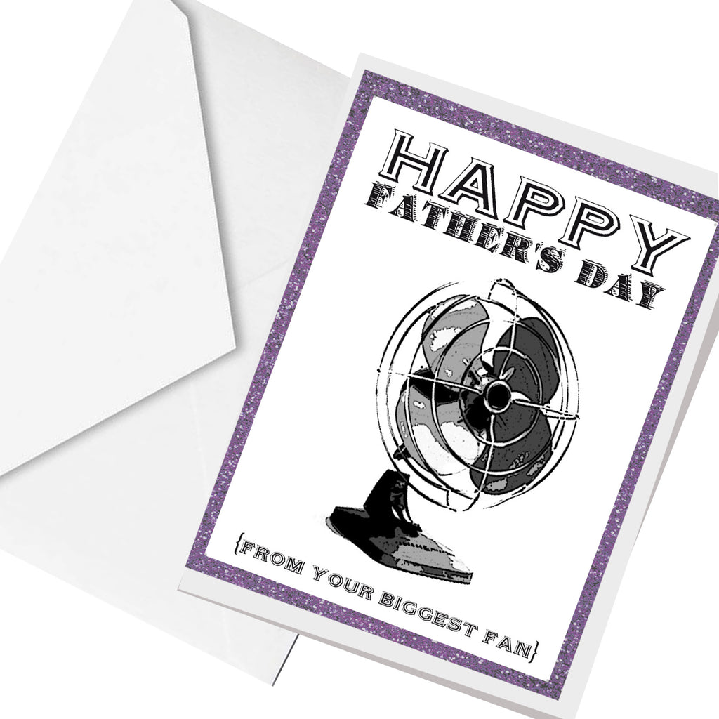 from your biggest FAN  ... greeting card