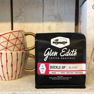 GLEN EDITH COFFEE: Buckle UP