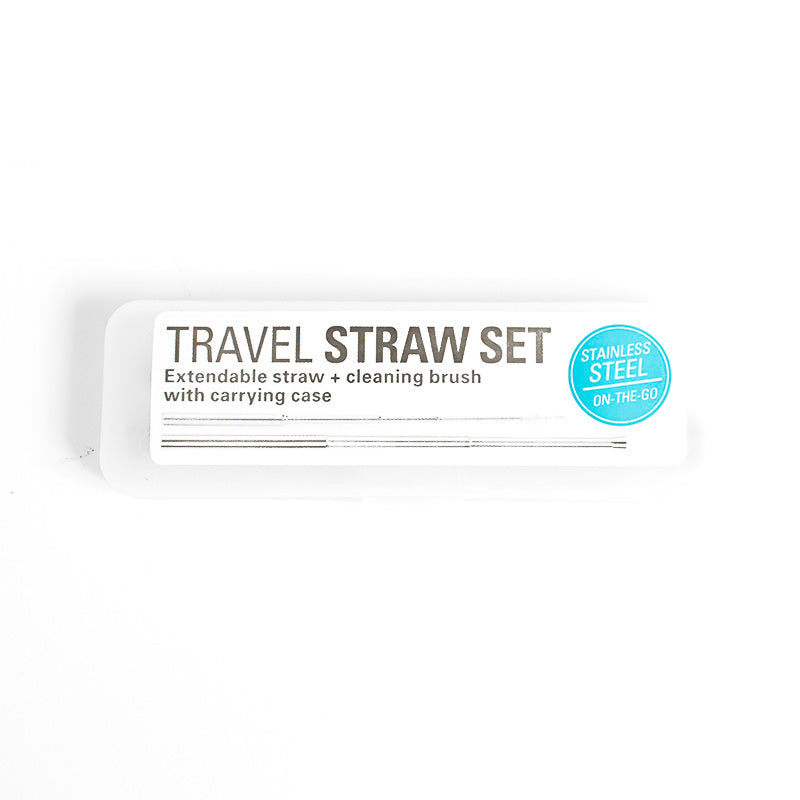 Travel Straw- Kikkerland