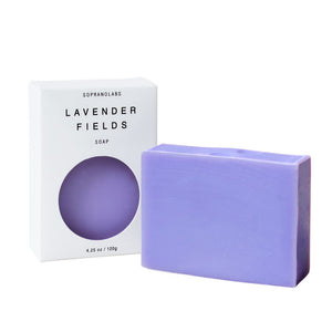 LAVENDER FIELDS  VEGAN SOAP- Sopranolabs