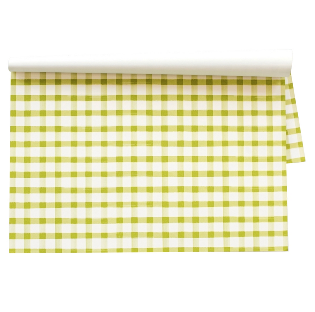 lime check: paper placemats
